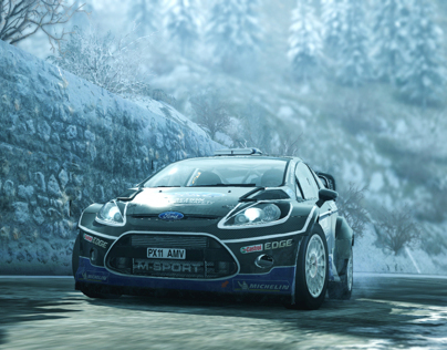 WRC 3 PS3/X360/PC Art Direction, Visual FX