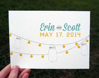 Southern Inspired Wedding Invitations