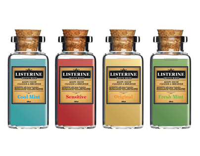 Listerine — Mouth Wash, Redesign