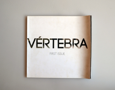 V É R T E B R A magazine - First issue.