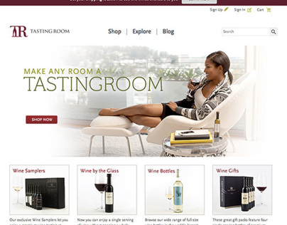TastingRoom.com Site Refresh
