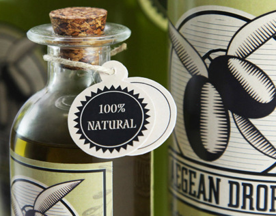 Agean Drops Olive Oil