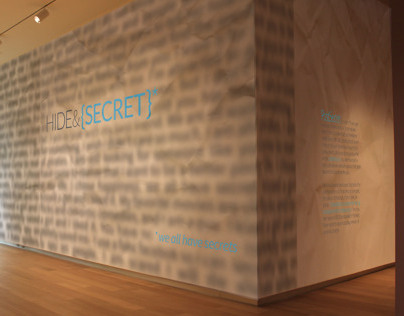 Hide & Secret Exhibition Design