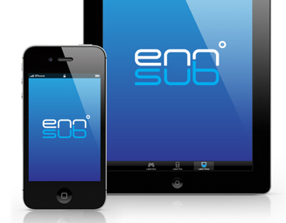 Ennsub Logo Design + Brand Development