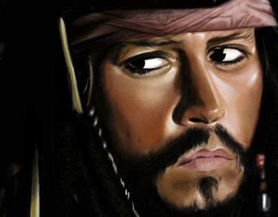 PORTRAIT( JACK SPARROW)