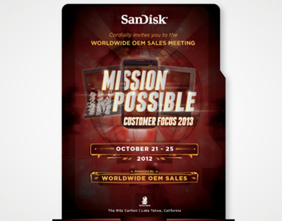 SANDISK MISSION POSSIBLE WORLDWIDE OEM SALES MEETING