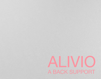 ALIVIO : Back support
