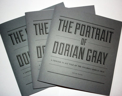 The Portrait Of Dorian Gray | A Concise IV Act Tale