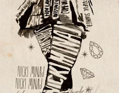 Nicki Minaj Licensed Merchandise