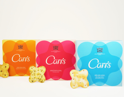 Carrs Crackers Redesign
