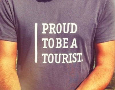 Proud to be a tourist