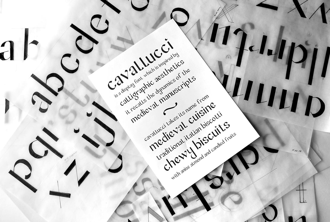 Cavallucci Typeface