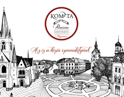 Kométa packaging redesign - school task