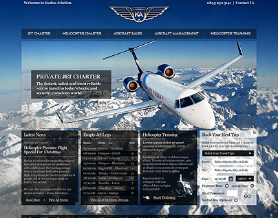 Kudos Aviation ~ A New World of Luxury Travel