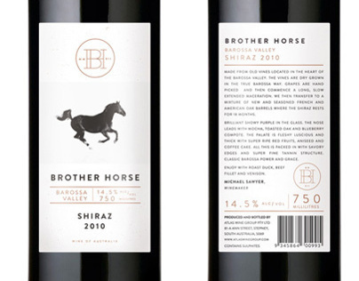 Brother Horse ~ Shiraz