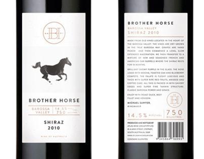 Brother Horse ~ Shiraz