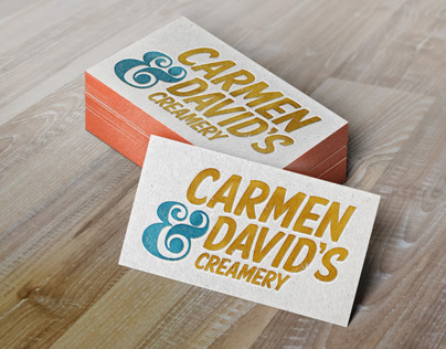 Carmen and Davids Rebrand