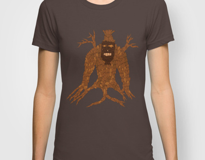 Tree Stitch Monster