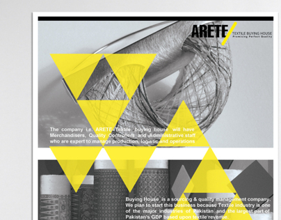 ARETE Textile Buying House Identity