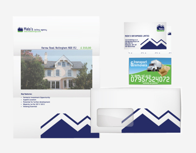 Matas Letting Agency. Corporate Identity