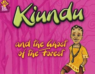 Children's Book design - Kiundu