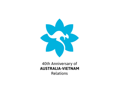 40th anniversary of Australia-Vietnam Relations - Logo