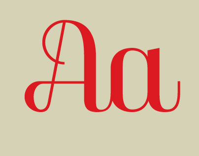 Magasin, a wavy script display typeface