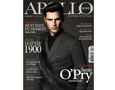 SEAN OPRY for APOLLO NOVO magazine