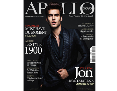 JON KORTAJARENA for APOLLO NOVO magazine