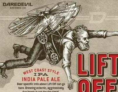 Beverage Labels Illustrated by Steven Noble...