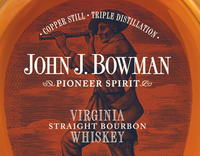 Bowman Brothers Labels illustrated by Steven Noble...