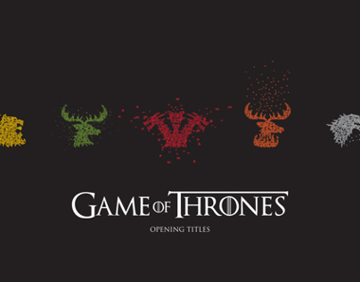 Game of Thrones - Opening Titles