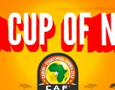 Africa Cup Of Nations 2012 Flash Banner
