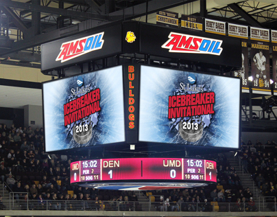 UMD Hockey | Amsoil Arena Graphics