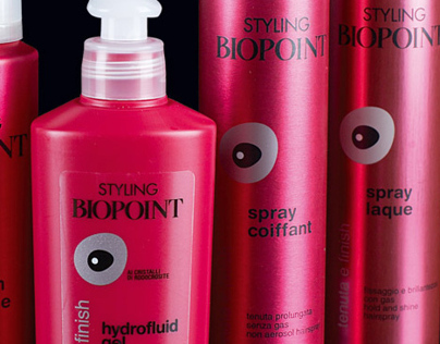 Styling Biopoint Packaging