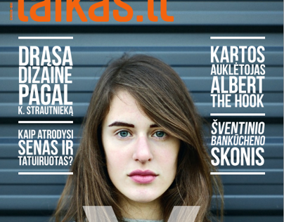 Laikas Magazine Cover (December Issue)