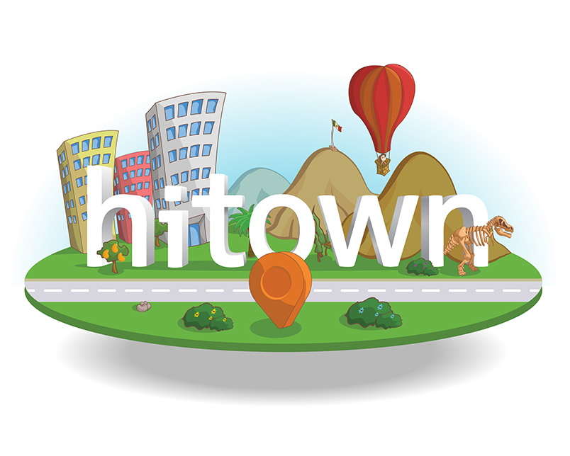 Letterings for Hitowns map
