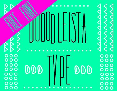 Dooodleista Type - Free Font