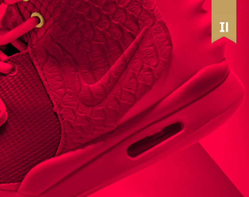 NIKE AIR YEEZY II X RED OCTOBERS