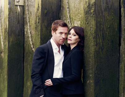 Damian Lewis & Helen McCrory for British Vogue