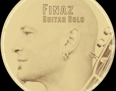 Finaz-Guitarsolo CD & Booklet