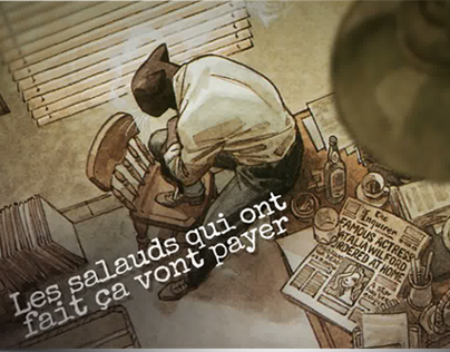 Comic teaser - Blacksad