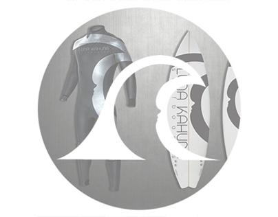 Luna Kahuna Surfboards - Brand Identity