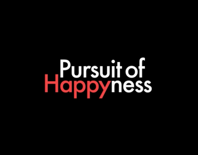 Pursuit Of Happiness Kinetic Typography