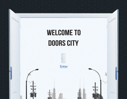 Doors City Website Design