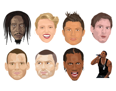 Famous People Illustrations
