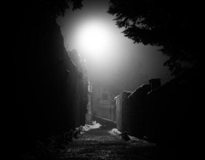 Aubenas by Night