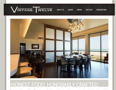 Vintage Twelve Website