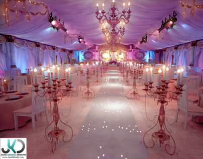 Wedding tent plan - UAE, Khorfakan