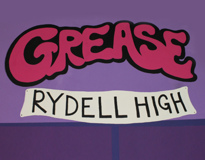 Grease Set Design & Marketing Material